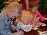 Mikołajki dla maluchów w Gminnym Ośrodku Kultury w Besku FOTO i VIDEO