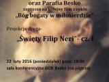 GOK Besko zaprasza na film Św. Filip Neri cz.1