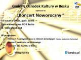 Koncert Noworoczny w GOK w Besku
