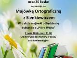 Majówka Ortograficzna z Sienkiewiczem