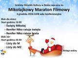 Mikołajkowy Maraton Filmowy w GOK-u
