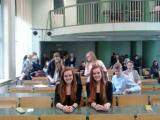 Siostry Białowąs z Gimnazjum w Besku trzecie w Polsce w konkursie transplantologicznym
